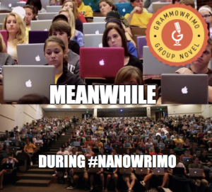 Meanwhile NaNoWriMo