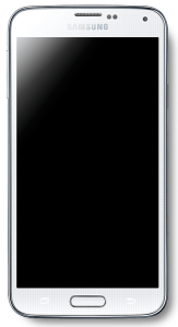 """Samsung Galaxy S5"" by GalaxyOptimus - Own work. Licensed under CC BY-SA 3.0 via Wikimedia Commons - https://commons.wikimedia.org/wiki/File:Samsung_Galaxy_S5.png#/media/File:Samsung_Galaxy_S5.png"